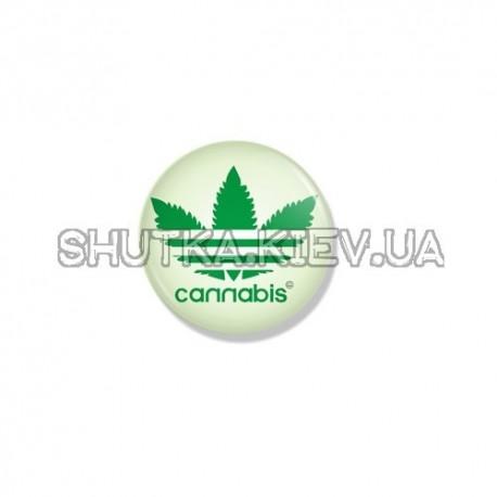 Значок cannabis фото 1 — Shutka