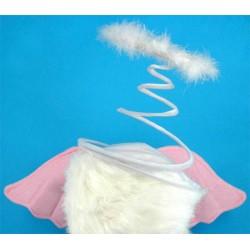 Шляпа ангелочка с крылышками