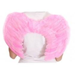 Крылья ангела розовые (детские)
