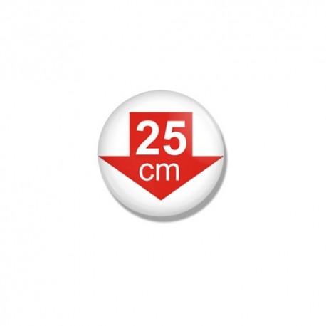 """Значок """"25 см"""""""