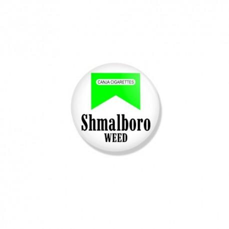 Значок Shmalboro WEED фото 1 — Shutka