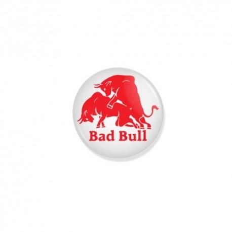 Значок Bad Bull фото 1 — Shutka