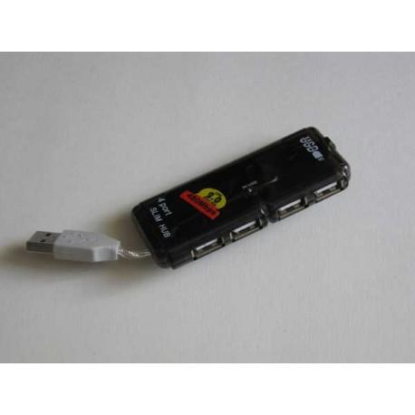 4-портовый скоростной USB 2.0 хаб