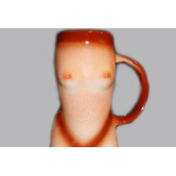 """Кружка для пива """"Женская фигура"""""""