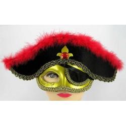 Шляпа - маска пират