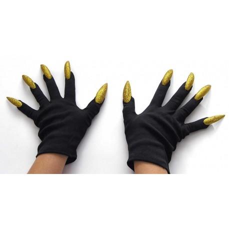 Перчатки с маникюром