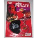Набор Пирата (кольцо, серьга, повязка на глаз)
