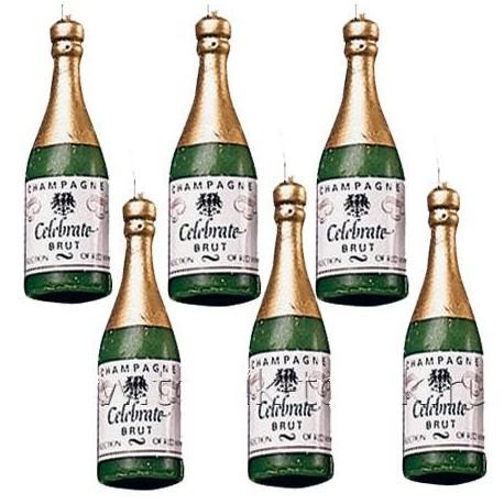 Свечи - бутылка шампанского фото 1 — Shutka