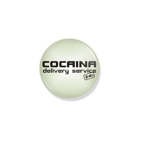 Значок cocaina          фото 1 — Shutka