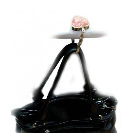 Вешалка для женской сумочки сердечко фото 1 — Shutka