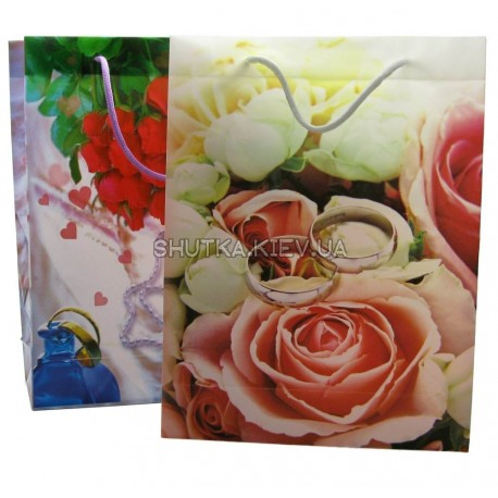 Пакет подарочный  (30х23х8 см) фото 1 — Shutka