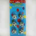 Свечи - футбольный мяч