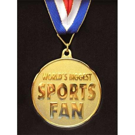 Медаль металл Sports fan фото 1 — Shutka