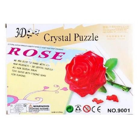 3D - пазл роза фото 1 — Shutka
