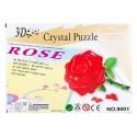 3D - пазл роза