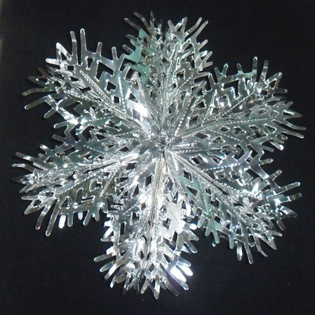 Снежинка блестящая