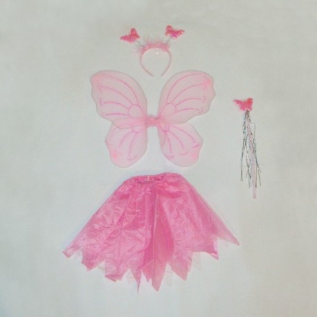 Детский карнавальный костюм Бабочка с юбкой фото 1 — Shutka