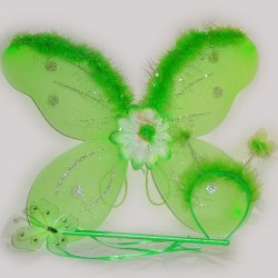 Набор бабочки с пухом