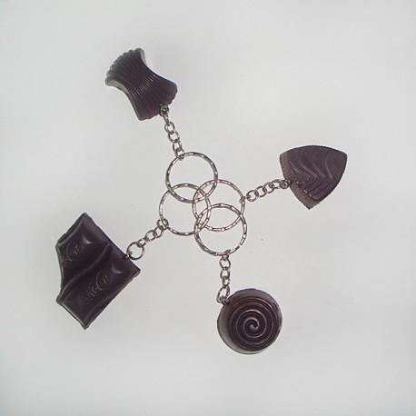 Брелок Шоколадная конфетка фото 1 — Shutka