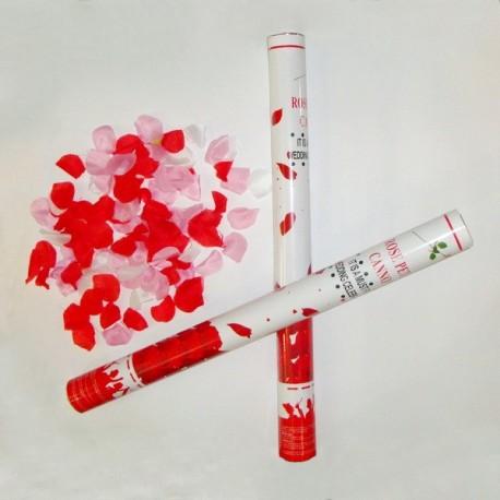 Хлопушка с лепестками роз (20 см) фото 1 — Shutka