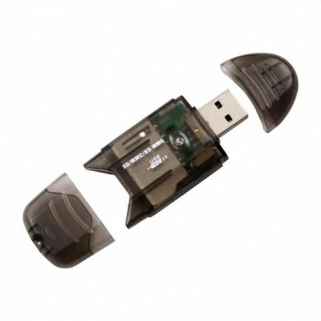 Картридер USB SD MMC SDHC фото 1 — Shutka