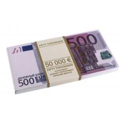 Пачка евро - блокнот