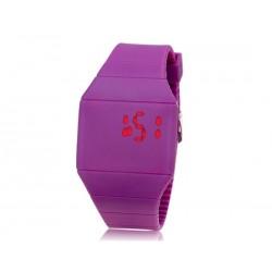Led часы силиконовые