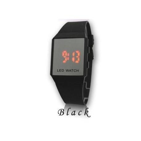 Led часы с силиконовым браслетом дешовые