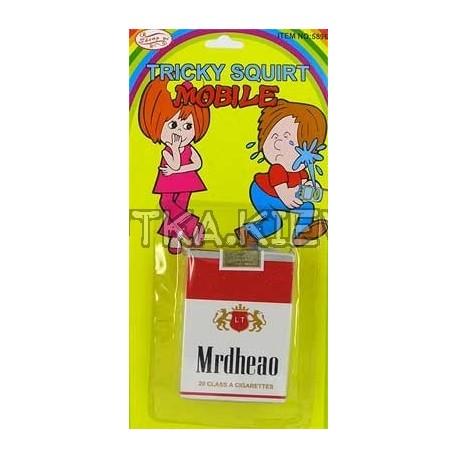 Пачка сигарет - брызгалка