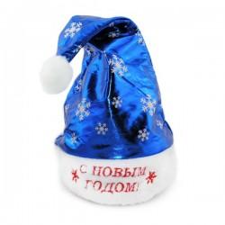 Колпак Санта-Клауса снежинка