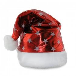 Колпак Санта-Клауса с звездочками