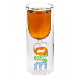 Бокал Любовь в стакане
