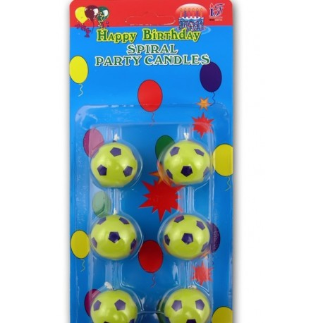 Свечи - футбольный мяч фото 1 — Shutka