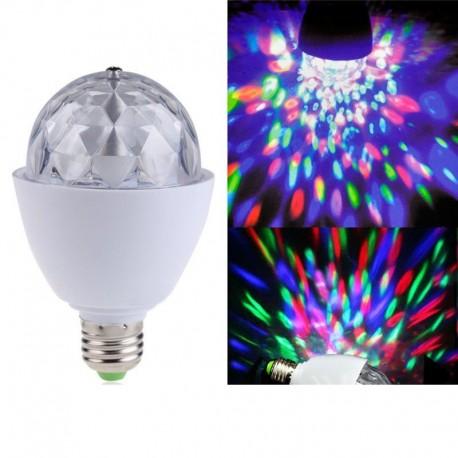 Вращающаяся LED лампа для вечеринок, дискотек 16 см фото 1 — Shutka