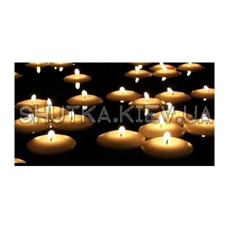 Свечи плавающие  фото 1 — Shutka