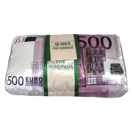 Подушка 500 евро фото 1 — Shutka