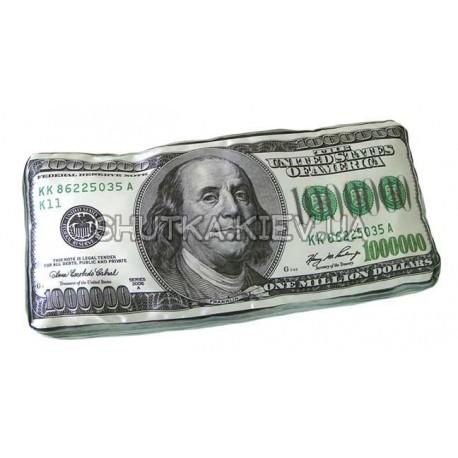 Подушка миллион долларов фото 1 — Shutka