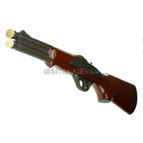 Коньячный набор ружье 7 предметов фото 1 — Shutka