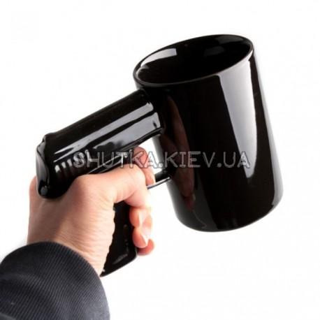 Чашка пистолет фото 1 — Shutka