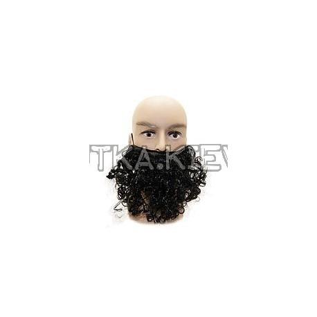 Борода накладная (черная) фото 1 — Shutka