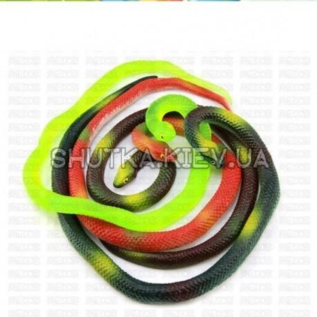 Змея резиновая 70 см фото 1 — Shutka