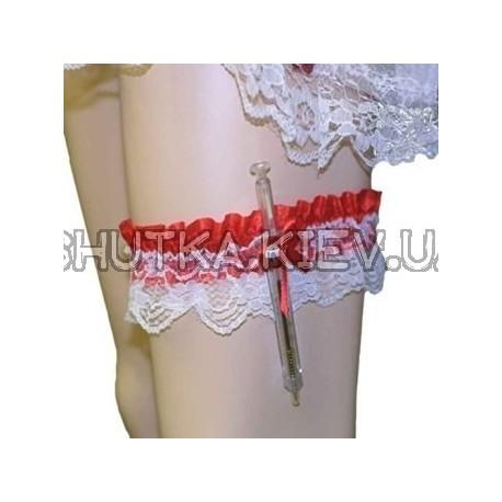 Подвзяка медсестры и шприц фото 1 — Shutka
