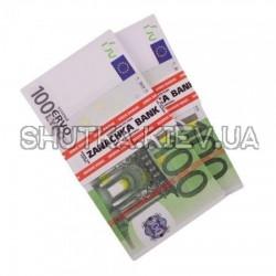 Пачка денег подарочная 100 евро
