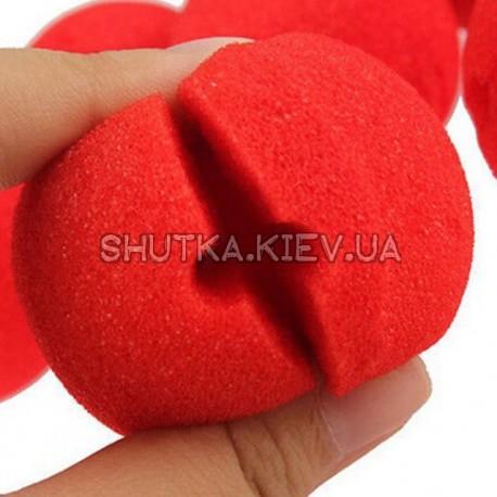 Нос клоуна (накладной) фото 1 — Shutka