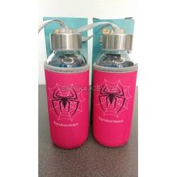 Бутылка Spiderman (Розовый)