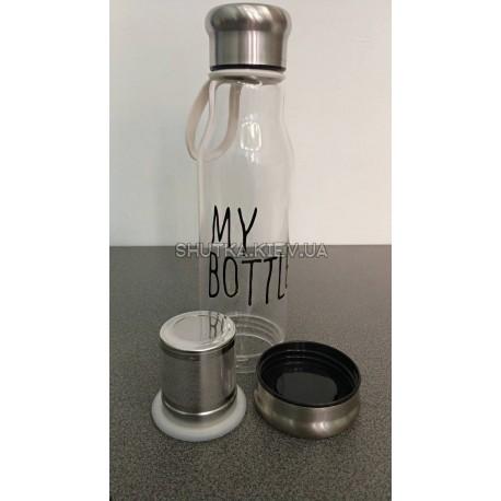 Термобутылка с заварником My Bottle фото 1 — Shutka