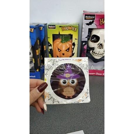 Наклейки  Совушка на хэллоуин фото 1 — Shutka