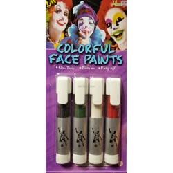 Грим маркеры (4 цвета)