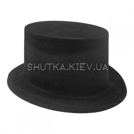 Шляпа цилиндр Флок (пластик) фото 1 — Shutka