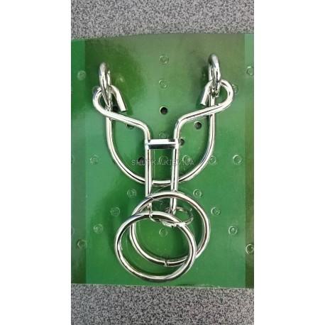 Головоломка металлическая Вешалка фото 1 — Shutka